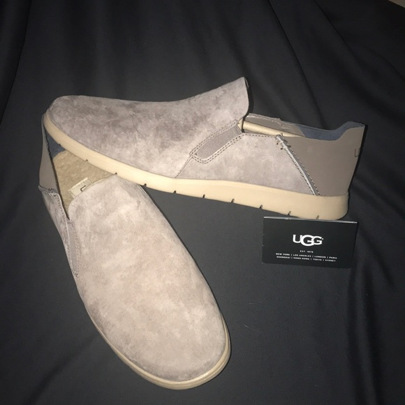 8c7da038f16 UGG MEN KNOX SLIP ON SHOES GRAY #11